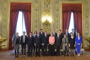 New Italian cabinet sworn in