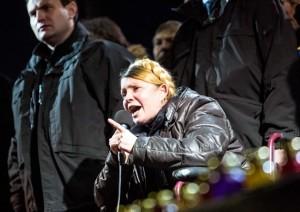 Yulia Tymoshenko arrives in Kiev
