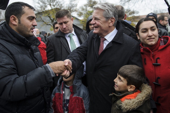 President Gauck Meets With Syrian Refugees