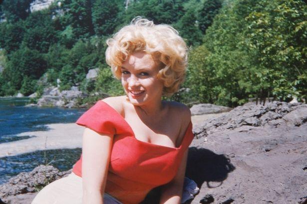 Marilyn Monroe in Allan Whitey Snyder's photo