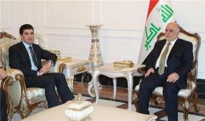 Nechirvan-Barzani-and-Iraq-PM-al-Abadi