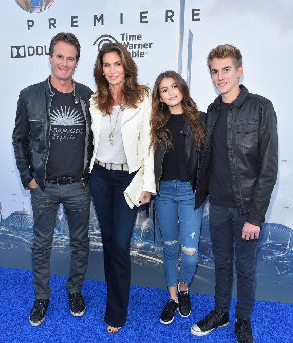 """attends the world premiere of Disney's """"Tomorrowland"""" at Disneyland, Anaheim on May 9, 2015 in Anaheim, California."""