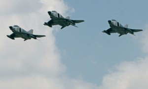 Turkey air force F-4E jets