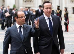 Francois Hollande visit to the UK