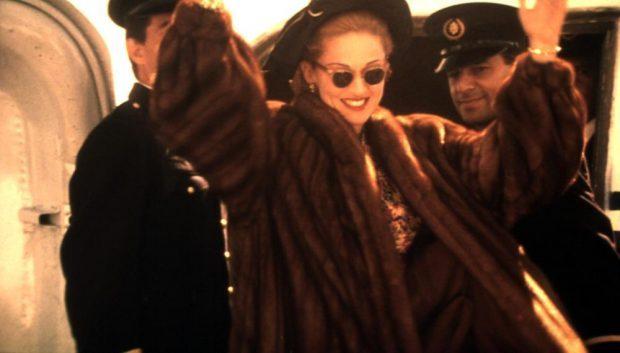 EVITA, Madonna, 1996, fur coat